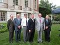 MassDOT Secretary Mullan, Congressman Richard Neal, USDOT Secretary Ray LaHood, Springfield, June 3, 2010 (4666325599).jpg