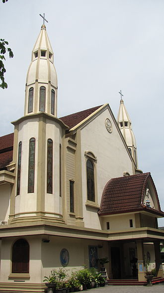 Mataram (city) - Catholic Church in Mataram