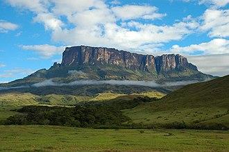 Climate of Venezuela - Image: Matawy tepuy