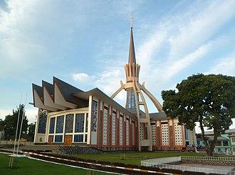 Bukoba - Image: Mater Misericordiae Church Bukoba