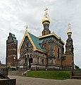 Mathildenhoehe Russische Kapelle Pano 2.jpg
