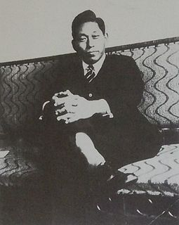 Japanese electrical engineer, politician and the founder of Tokai University