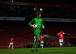 Matthew Macey of Arsenal FC (10186523815).jpg