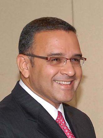 2009 Salvadoran presidential election - Image: Mauricio Funes (Brasilia, May 2008)