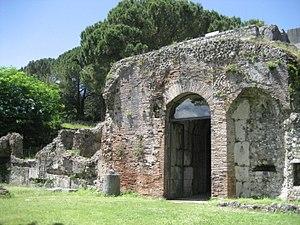 Casinum - Mausoleum of Ummidia Quadratilla