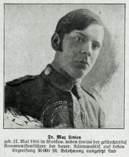 Max Levien German journalist