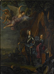 Portrait of Maximilian II, Elector of Bavaria, at the Battle of Mohács against the Turks