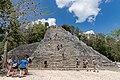 Maya Pyramide in Coba (41787166580).jpg