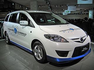 Mazda Premacy Hydrogen RE Hybrid Motor vehicle