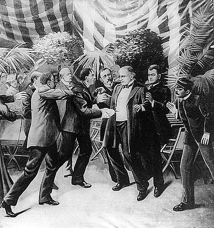 Artist's conception of the shooting of McKinley McKinleyAssassination.jpg