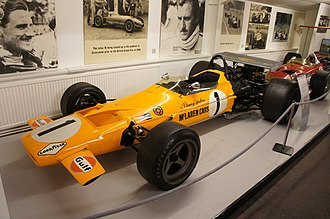 McLaren M7A - A M7A on display in the Donington Collection