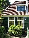 foto van Houten dwarshuis, indeling vensters in Empirestijl