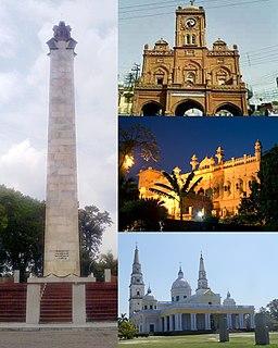 Meerut Metropolitan City in Uttar Pradesh, India