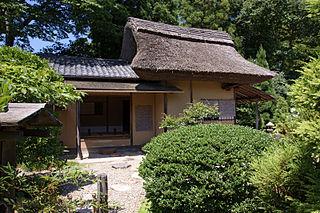 tea house in Matsue, Japan