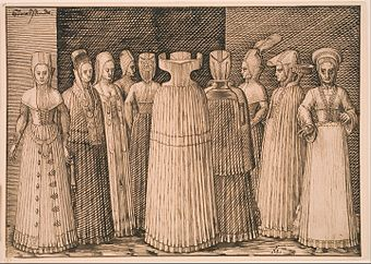 Melchior Lorck - Ten Women from Stralsund - Google Art Project.jpg