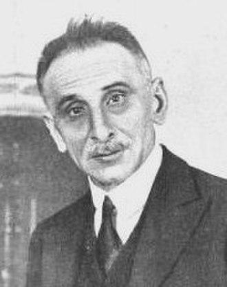 Spanish general election, 1920 - Image: Melquíades Álvarez político