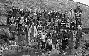 Meltham - Image: Meltham Cub Scouts, late 1970s (RLH)