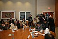 Members of the Press Participate in a Media Roundtable With Assistant Secretary Blake (5576603867).jpg