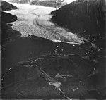 Mendenhall Glacier, valley glacier terminus, August 31, 1977 (GLACIERS 6014).jpg