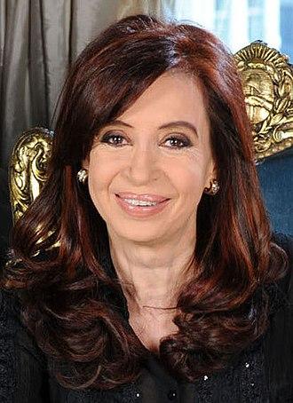 2011 Argentine general election - Image: Mensaje de fin de año de la Presidenta (cropped)