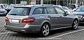 Mercedes-Benz E 350 CDI BlueEFFICIENCY T-Modell Avantgarde (S 212) – Heckansicht (1), 8. Juni 2011, Velbert.jpg