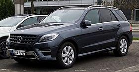 Mercedes Ml350 Price 2017 >> Mercedes-Benz M-Class - Wikipedia