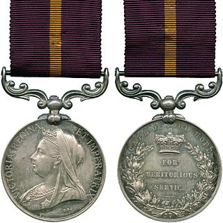 Meritorious Service Medal (Cape of Good Hope)