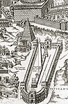 Detail of the Ager Vaticanus from a map of Pirro Ligorio from 1561