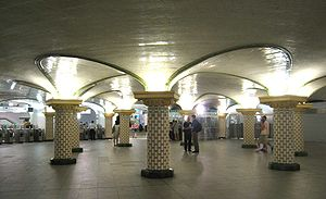 Paris Métro Line 13 - Rotunda of Saint-Lazare station