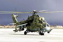Quel futur hélicoptère d'attaque pour les FRA? - Page 8 220px-Mi-24_Desert_Rescue