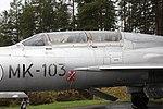 MiG-21U (MK-103) Keski-Suomen ilmailumuseo 2.JPG