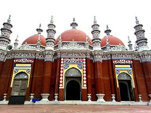 Barisal - Miah Bari Mosque in Karapur, Barisal