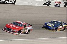 383b9f5a9b2 Michael Waltrip s No. 55 NAPA Dodge (right) in 2006