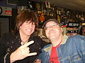 Michael Angelo Batio with a fan.jpg