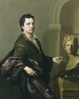 Michael Dahl - Michael Dahl's self-portrait dated 1691.