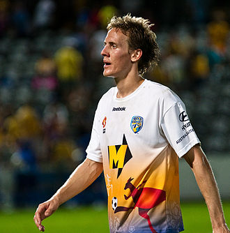 Gold Coast United FC - Michael Thwaite is Gold Coast United's most capped player, amassing 82 appearances over the clubs three years.