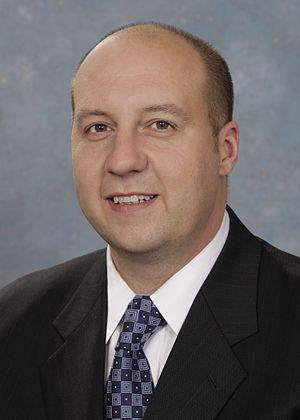 Curtis Hertel Jr. - Image: Michigan State Senator Curtis Hertel Jr