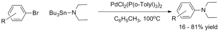 Original precedent for Pd-catalyzed C-N coupling
