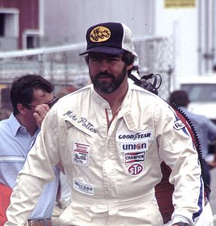 Mike Potter (racing driver) American racing driver