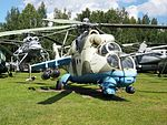 Mil Mi-24 at Central Air Force Museum pic5.JPG