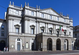 La Scala - Exterior of La Scala