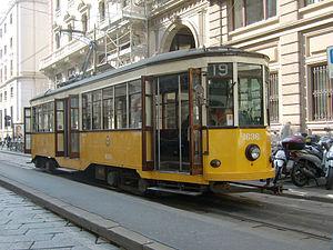 Italiano: Tram serie 1500 al capolinea della l...