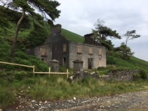 Snaefell Mine - A view of the Mine Captain's House at the Great Snaefell Mine