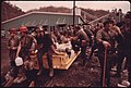 Miners Waiting to Start Their 4 P.M. to Midnight Shift at Virginia-Pocahontas Coal Company -4 near Richlands, Virginia 04-1974 (3906409651).jpg