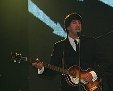 Miro Džunko ako Paul McCartney, r. 2010