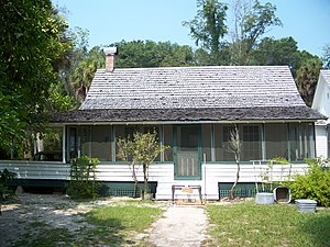 Marjorie Kinnan Rawlings Historic State Park - View of the Kinnan Rawlings home