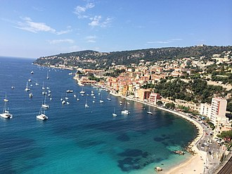 Alpes-Maritimes - The French Riviera, centred on Nice, attracts millions of tourists every year.
