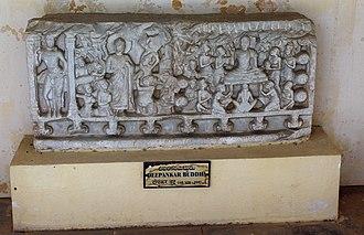 Dīpankara Buddha - Image: Model of Deepankar Buddha at ASI Museum, Amaravathi