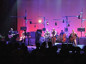 Modest Mouse - Modest Mouse playing a set on April 30, 2007 at the United Palace Theater in New York City