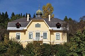 Carl Auer von Welsbach - Auer von Welsbach's castle in Mölbling, Austria